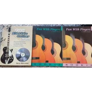 3 in 1 Guitar Self Taugh Books