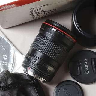 lensa canon ef 135mm f2 l series tajam murah