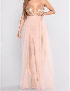 Honey prom dress