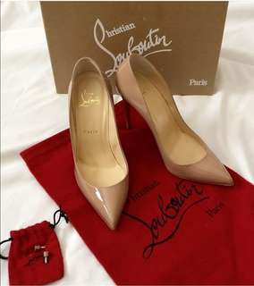 Authentic CL Pigalle follies 100 patent leather good condition