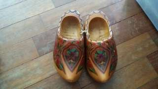 Holland Netherlands wooden clogs