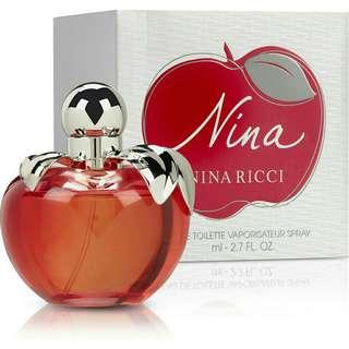 Parfume Ori Nina Ricci Red Apple (Singapore)