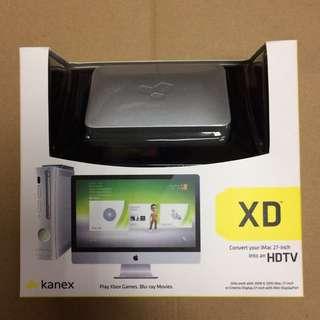 原裝正品kanex XD imac 27吋HDTV轉換器藍光DVD玩PS3/Xbox360遊戲