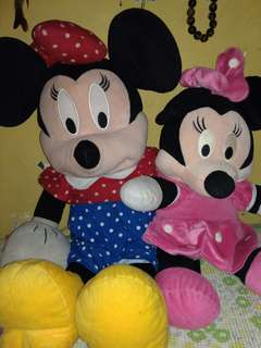 Minnie Mouse take all
