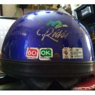 (Sold) Vintage Sgv Rider Helmet