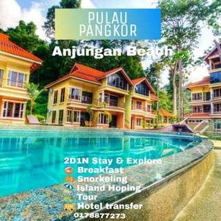 Pulau Pangkor 2D1N stay & explore
