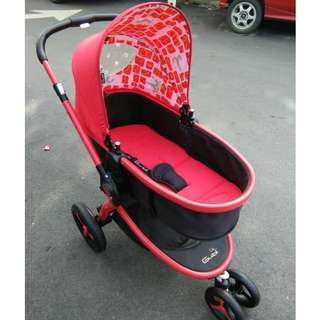 Sweet Cherry Ferro Stroller