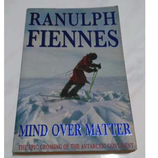 [Self Development Book!] Mind over Matter: The Epic Crossing of the Antarctic Continent