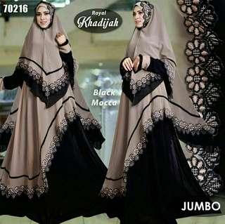 Lroyal khadijah black mocca jumbo