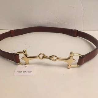 Holt RENFREW Horse Bit Belt