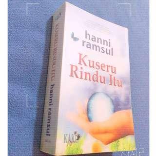 Novel Melayu : Kuseru Rindu Itu