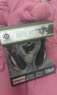 (只此1件清貨) 全新品Steelseries Spectrum 5XB 耳罩式遊戲耳機 PC & XBOX 360
