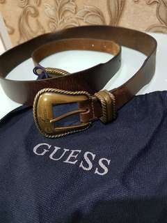 Belt Guess Ori (kulit asli)