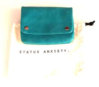 Status Anxiety Leather Pouch Wallet (Fixed Prixe)