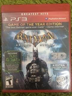 3 CD Games BATMAN (TAKE ALL!!)