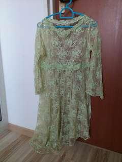 Baju Kurung Lace Pre-loved