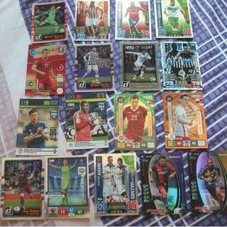Topps/Panini shiny foil/inserts trading cards for sale/trade (Lot of 45 cards)
