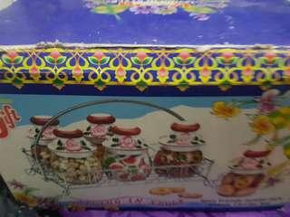 Hari Raya Cookie Glass holder set