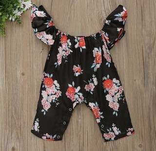 Dress anak / jumpsuit floral anak / atasan