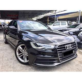 2013 Audi A6 2.0 (A) S-LINE LOCAL FULL SPEC TIPTOP