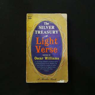 The Silver Treasury of Light Verse - (edited by) Oscar Williams