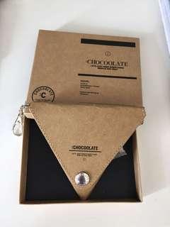 Chocolate 非賣品紙製散銀包
