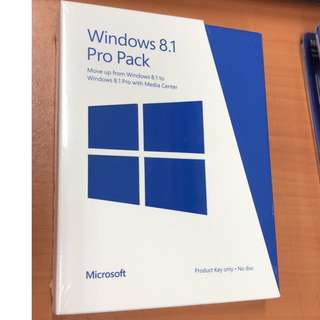 Windows 8.1 Pro Pack  (Stock Clearance)