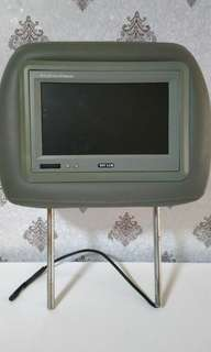 LCD HeadRest monitor for Grand Livina