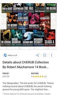 ALL CHERUB BOOKS