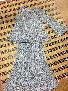 mini kurung lace