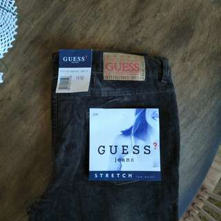Guess corduroy flares