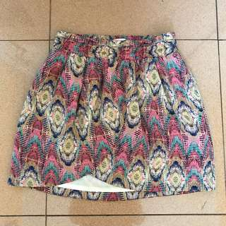 Pull and bear skirt