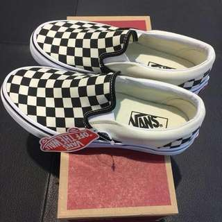 vans slip on checkerboard Size 8 (40,5)