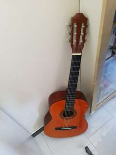 Classical Guitar, Mic Stand, Note stand for sale