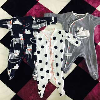 UK next sleepsuits