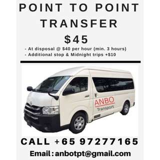 13 seater mini-bus for use