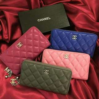 Chanel high quality wallets