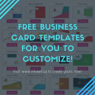 Free Namecard Templates