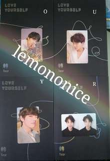 [TRADE] BTS Love Yourself Tear Photo Card