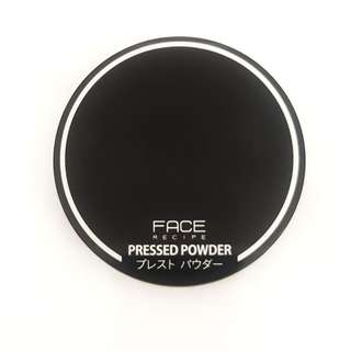 (NEW) FACE RECIPE PRESSED POWDER (Ivory / Natural Skin Tone - Yellow undertone)