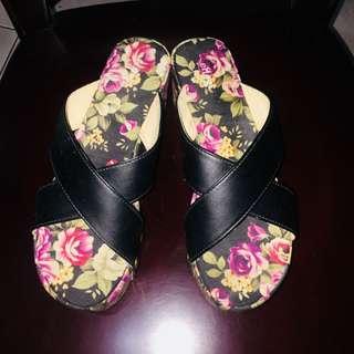 Effegi wedge sandals