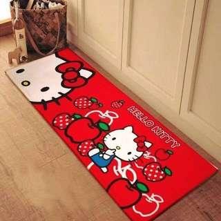 Hello Kitty long doormat