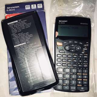 Sharp Scientific Calculator EL-W531S