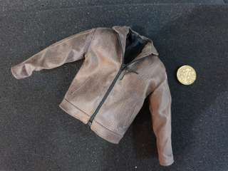 [NOT LIFE SIZE] 1/6 Scale Brown Leather Jacket