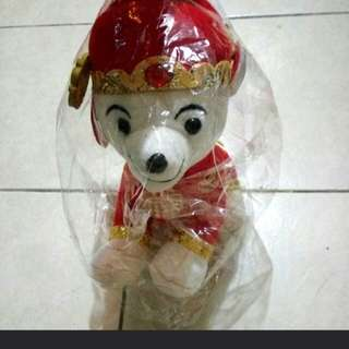 Cute Cny Dog plushie