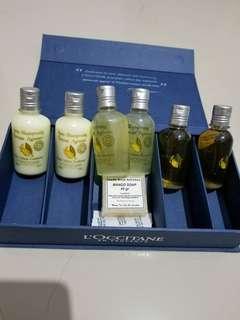 L'occitane Bath Set