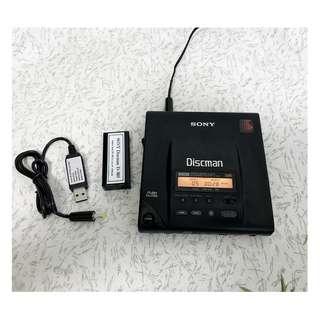 vintage Sony Discman D-303 portable CD player DBB Japan version good working condition
