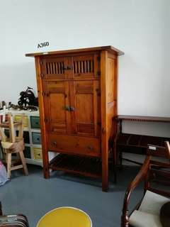 Tall Vintage Cabinet (Preowned)