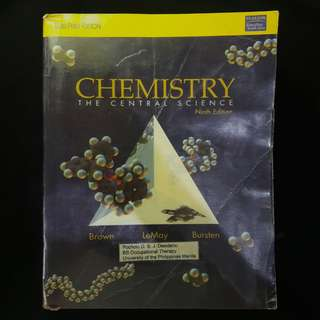 Chemistry: The Central Science 9th ed. - Brown, LeMay, Bursten