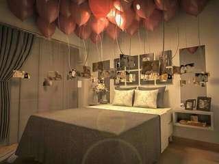 surprise dekor kamar dengan polaroid